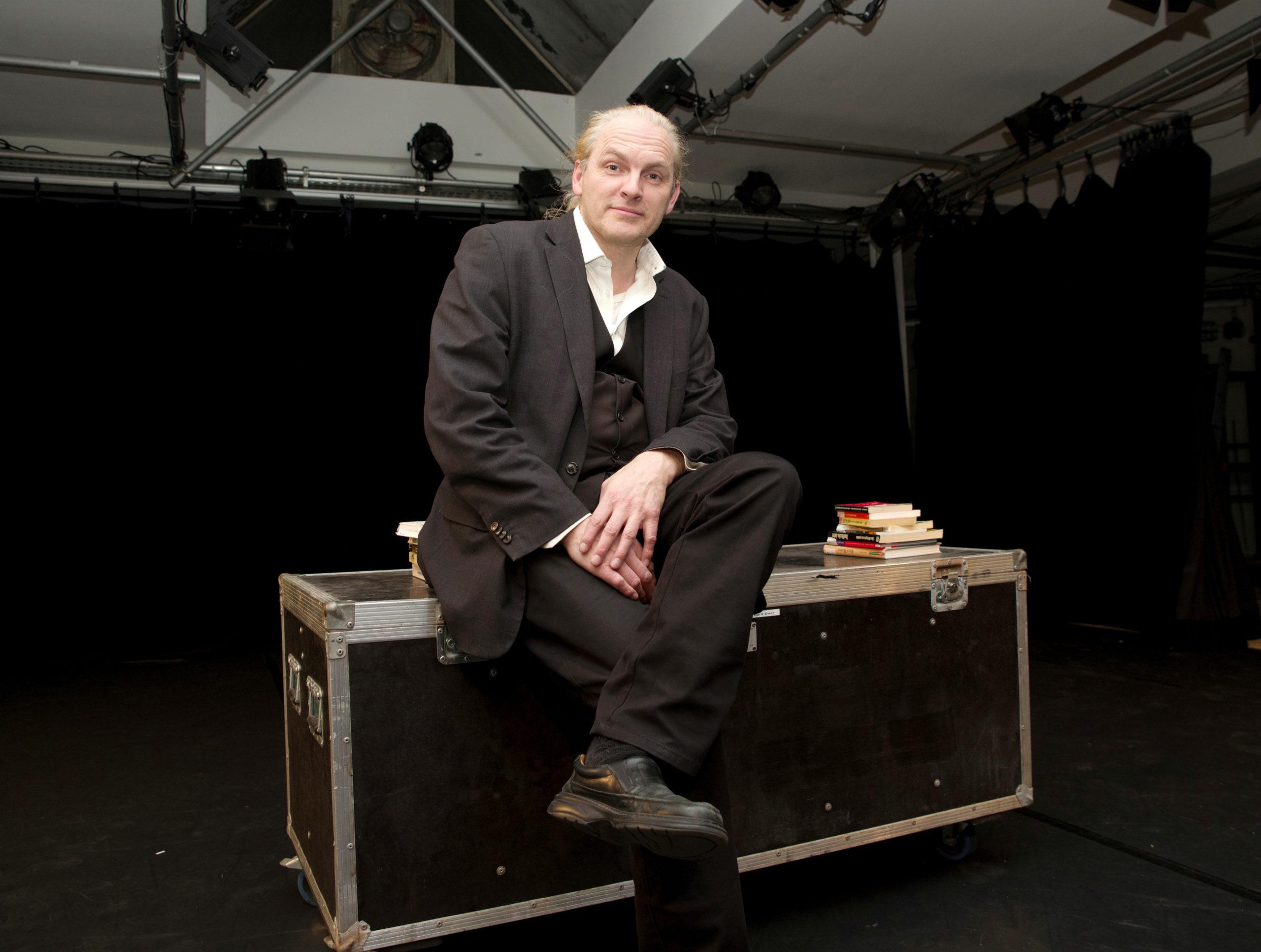 Sascha Koal ist seit der Eröffnung des Hauses 2009 Leiter des Theater Felina Areal.