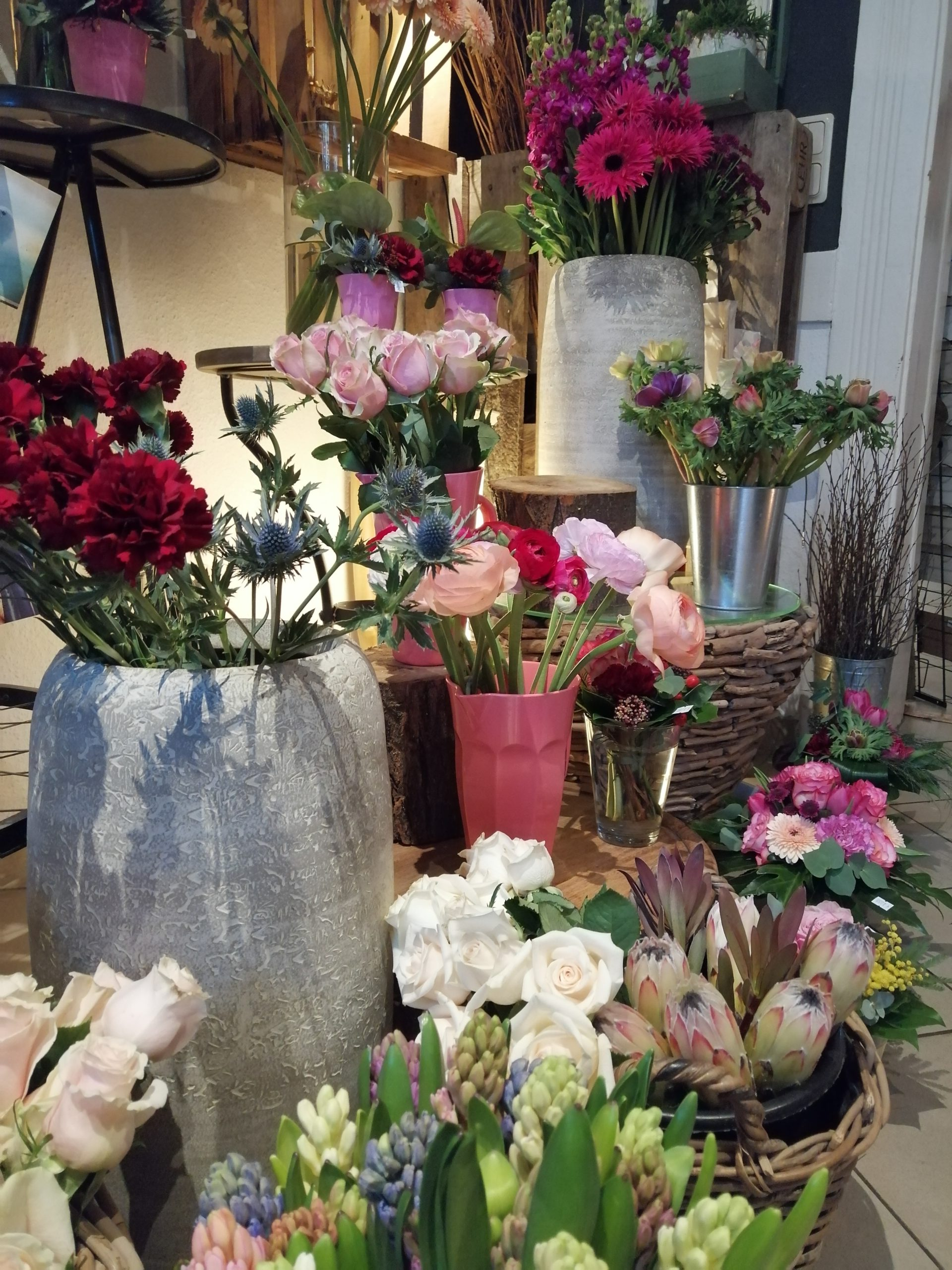 Nach Möglichkeit bezieht die Inhaberin ihre Schnittblumen aus Deutschland.