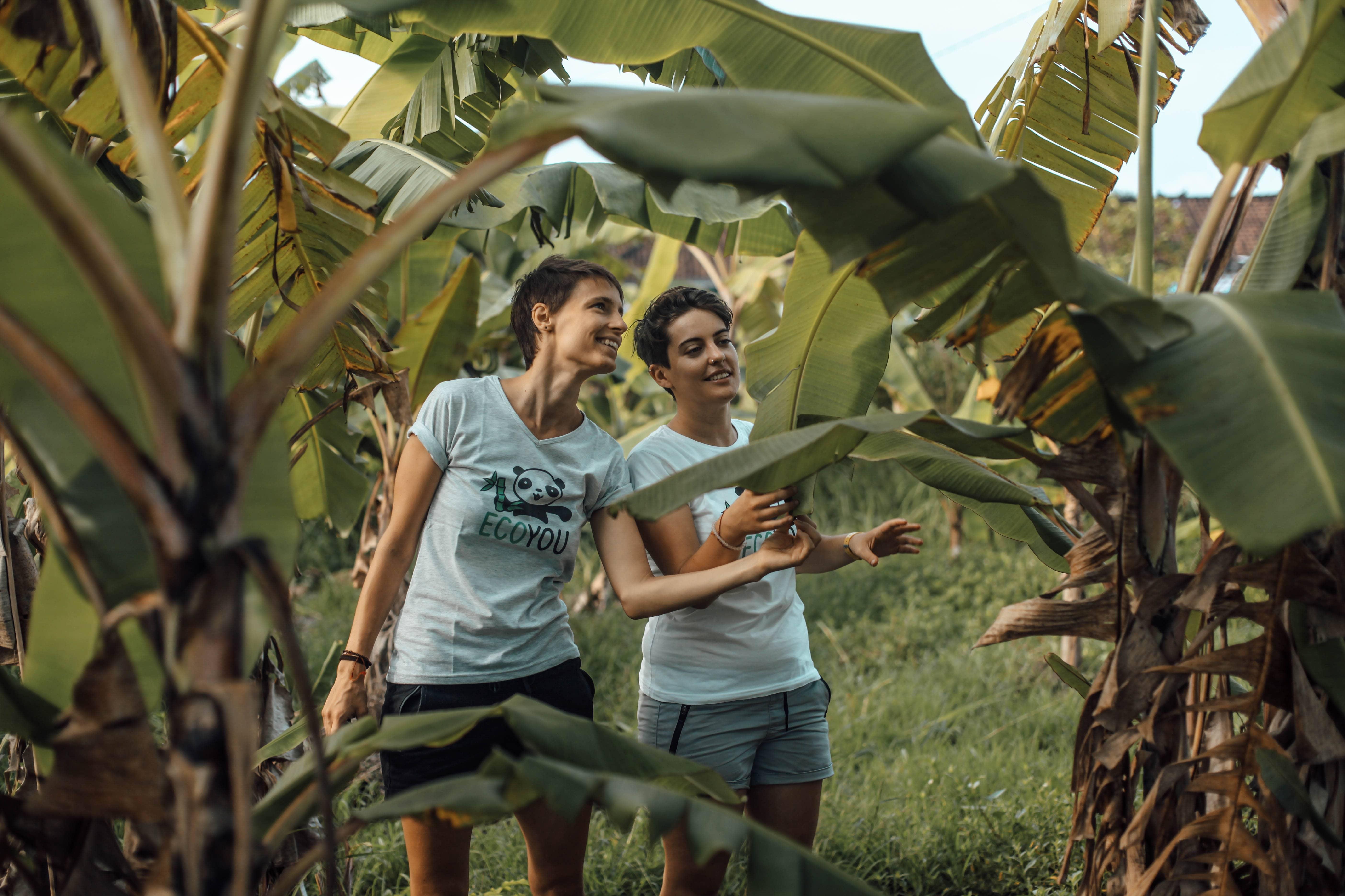 Lisa und Joy betreiben gemeinsam die Online Community EcoYou.